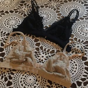Anemone lace bras set 2